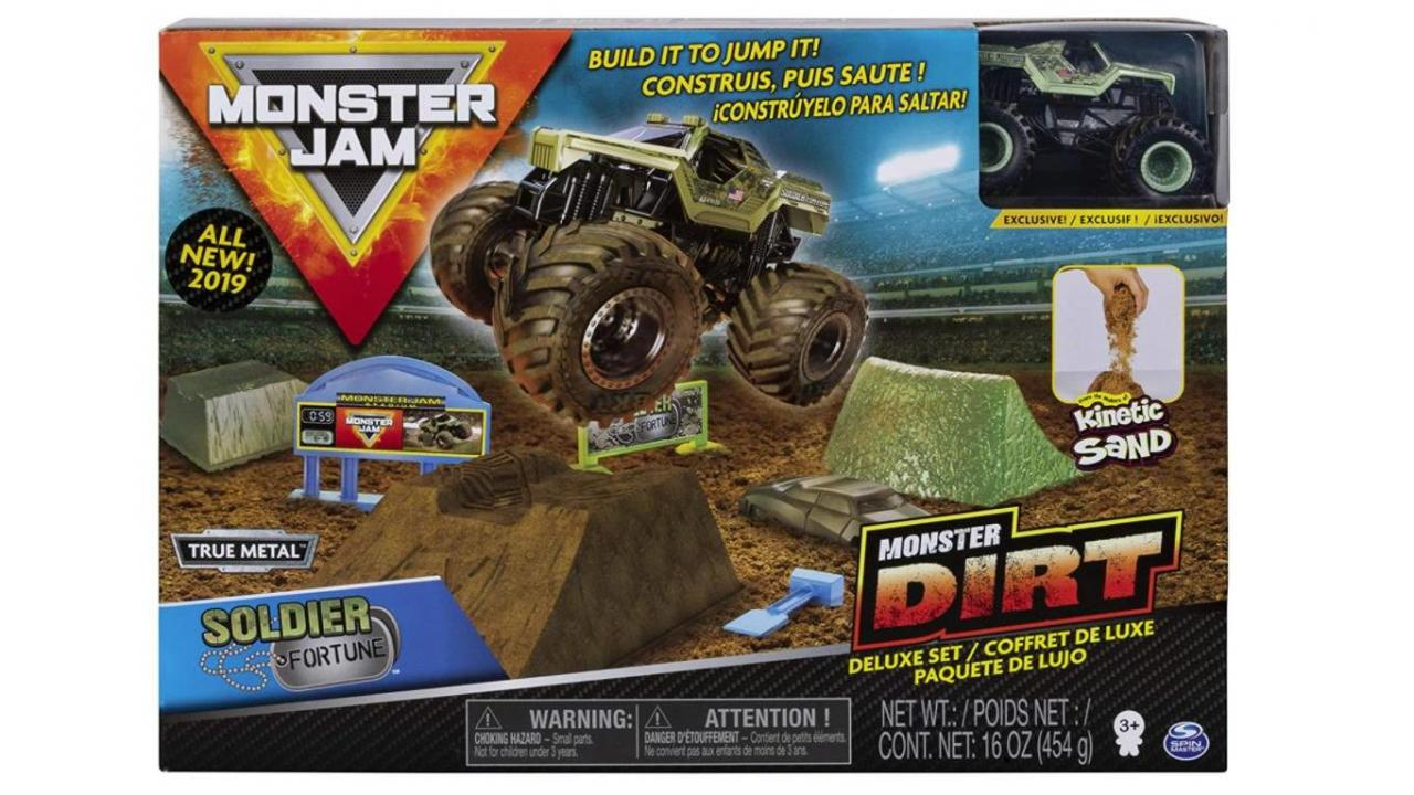 Monster Jam Dirt Deluxe Set Only 8 76 48 Off Wral Com
