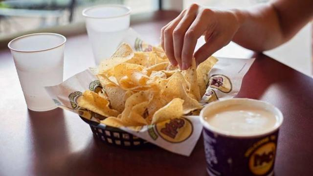 Moe's Southwest Grill Queso and Chips (photo courtesy Moe's)