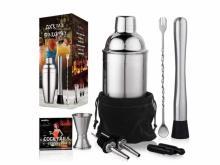 Cocktail Shaker Bartender Set (photo courtesy Amazon)