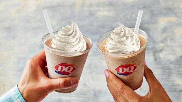 Dairy Queen Shakes (photo courtesy Dairy Queen)