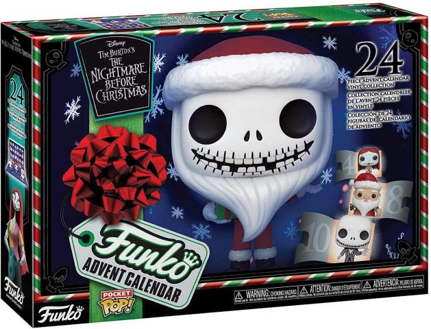 Funko Advent Calendar: The Nightmare Before Christmas (photo courtesy Amazon)