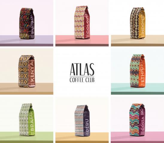 Atlas Coffee Club Collection (photo courtesy Atlas Coffee Club)