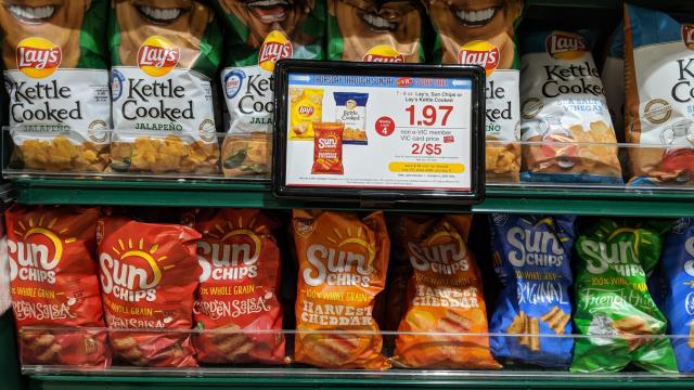 Lay's Chips Deal (photo: Faye Prosser)