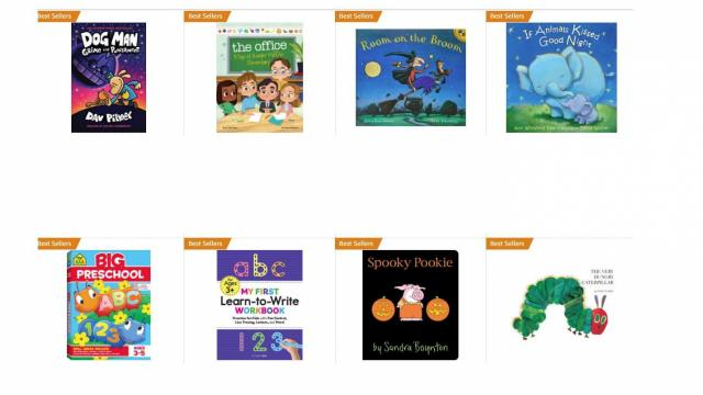 Children's Books (photo courtesy Amazon)
