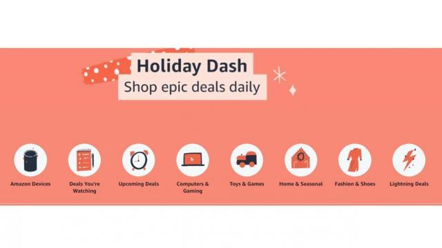 Amazon Holiday Dash Sale (photo courtesy Amazon)
