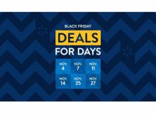 Walmart Deals for Days Promotion (photo courtesy Walmart)