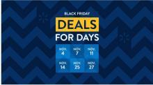 IMAGES: Walmart Black Friday Event #2: Nov. 11-15