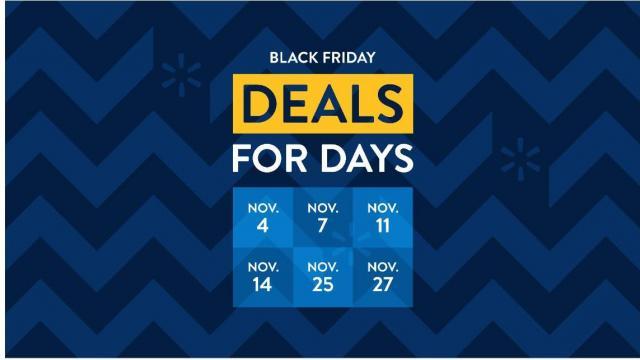 Walmart Deals for Days Promotion (photo courtesy Walmart)