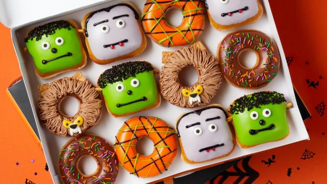 Krispy Kreme NEW Scary Sweet Monster Doughnuts (Photo: Business Wire)