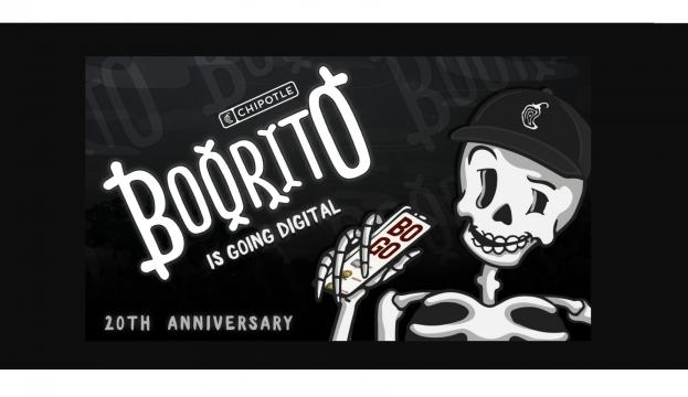 Chipotle's Boorito 2020 (photo courtesy Chipotle)