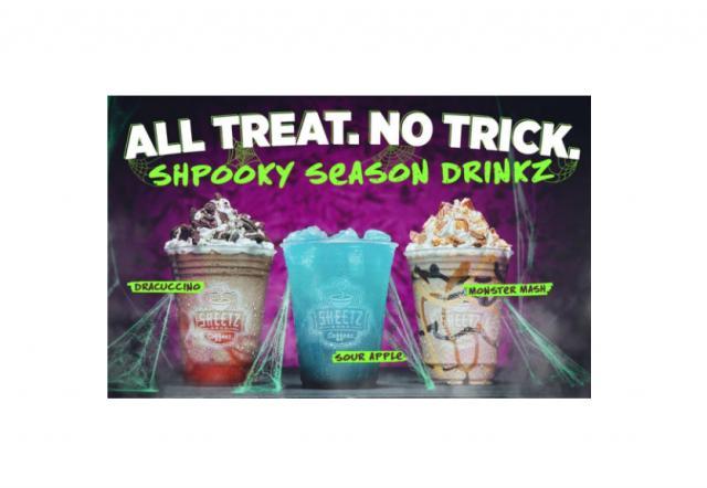 Sheetz Halloween-themed drinks (photo courtesy Sheetz)