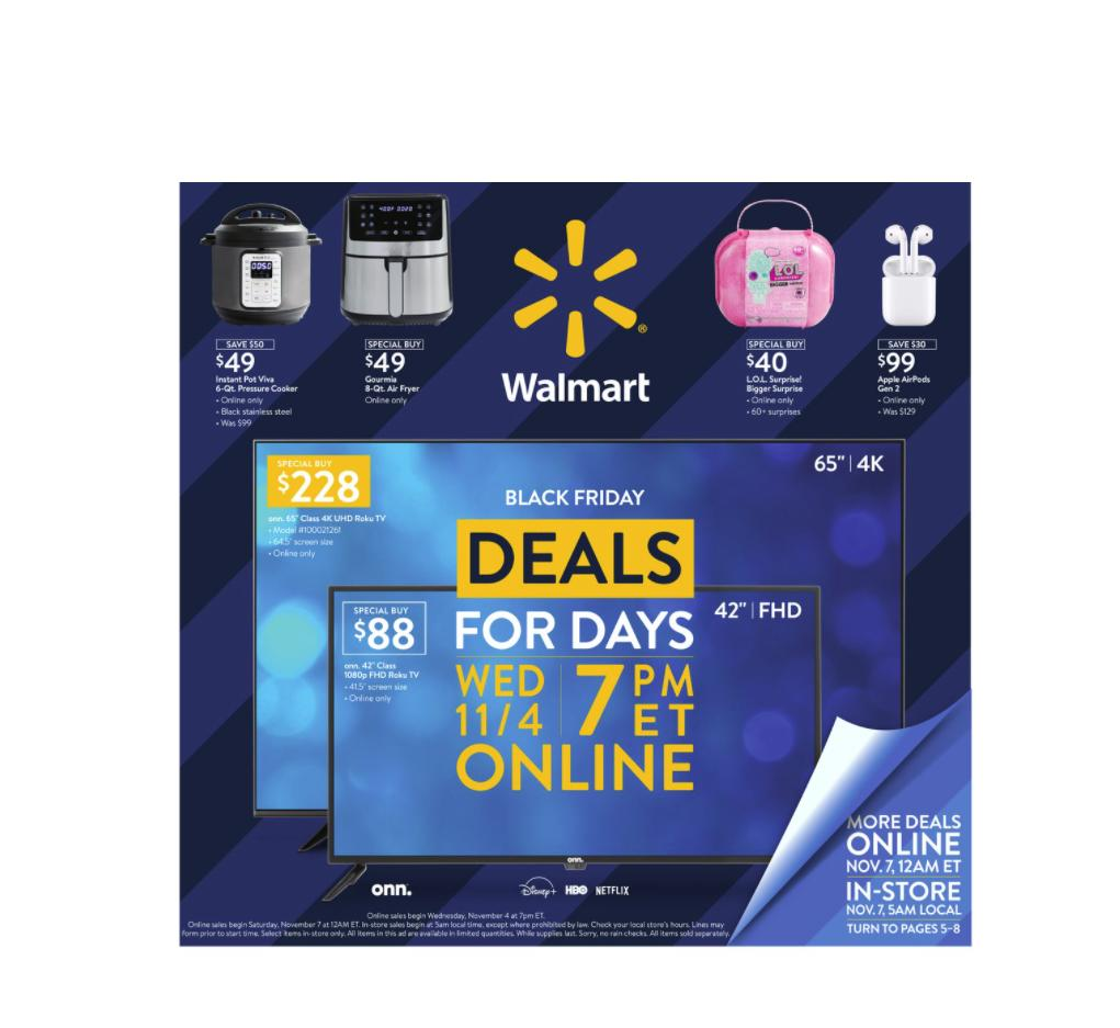 Walmart Black Friday Sale Starts Online Today At 7 Pm See The List Of Top Deals Here Wral Com