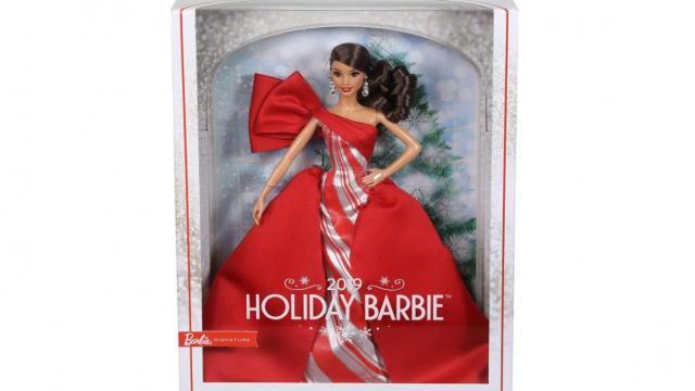 Barbie 2019 Holiday Doll (photo courtesy Amazon)