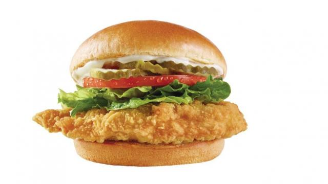 Wendy's New Classic Chicken Sandwich (photo courtesy prnewswire and The Wendy's Company)