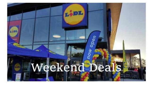 Lidl Weekend Deals (photo: Faye Proser)