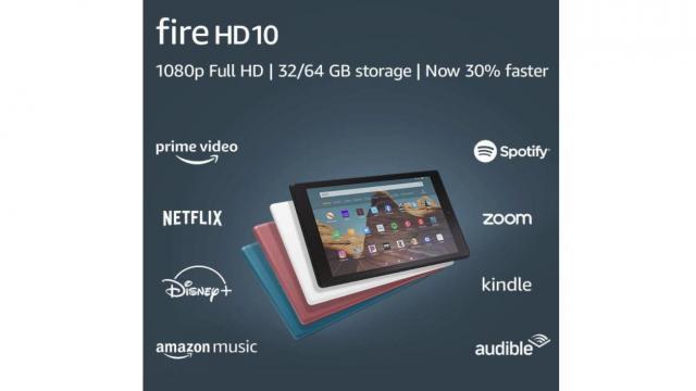 Fire HD 10 Tablet (photo courtesy Amazon)