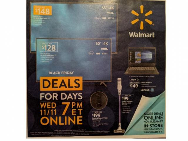 Walmart Black Friday Event 2 Is Live Now And New Deals Start At Midnight Tonight Wral Com