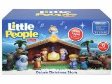 Fisher-Price Little People Christmas Story (photo courtesy Amazon)