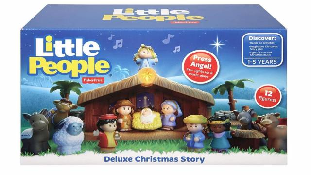 Fisher-Price Little People Christmas Story (photo courtesy Amazon)