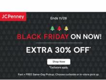 JCPenney Black Friday Sale (photo courtesy JCPenney)
