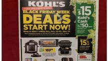 IMAGES: New Kohl's Black Friday Sales are live now: Toys (50% off), clothing (up to75% off), jewelry, $15 Kohl's Cash!