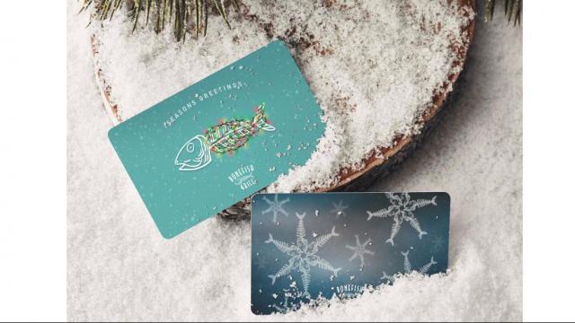 Bonefish Grill Gift Cards (photo ocurtesy Bonefish Grill)