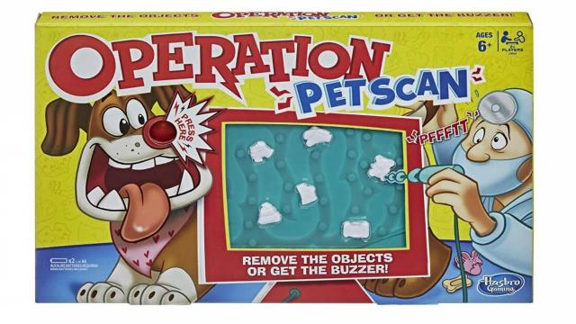Operation Pet Scan Board Game (photo courtesy Amazon)