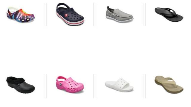 Crocs Sale (photo courtesy Crocs)