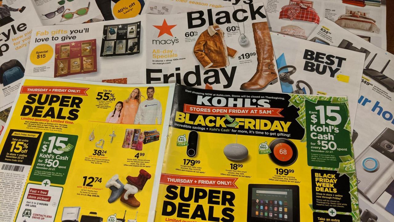 List Of Top 2020 Black Friday Sales Wral Com