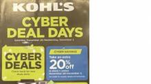 IMAGES: Fabulous Kohl's Cyber Monday deals with multiple stackable coupons AND $15 Kohl's Cash