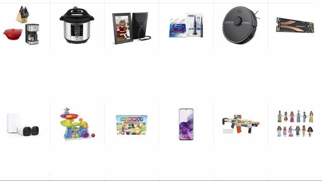 Amazon Cyber Monday Sale (photo courtesy Amazon)