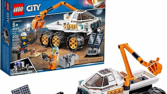 LEGO City Rover Testing Drive Building Kit  (photo courtesy Amazon)
