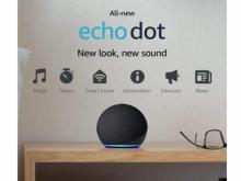 All-new Echo Dot (4th Gen) Smart speaker with Alexa (photo courtesy Amazon)