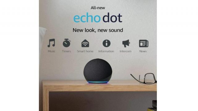 All-new Echo Dot (4th Gen) Smart speaker with Alexa (photo courtesy Amazon)