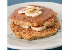 Peanut Butter Banana Pancakes photo courtesy Food Bank of Central & Eastern North Carolina