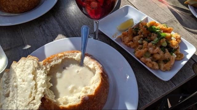 Restaurant Meal (photo Faye Prosser)