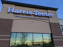 Harris Teeter Store Front, Cary, NC