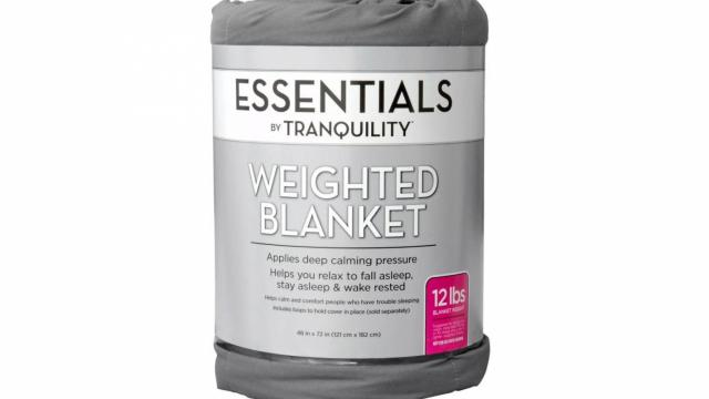 Essentials Weighted Blanket (photo courtesy Target)