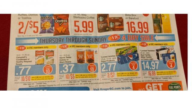 Harris Teeter 4-Day Sale (photo: F. Prosser)