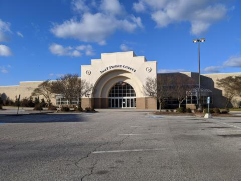 Cary Towne Center, Food Court entrance, Jan. 28, 2021