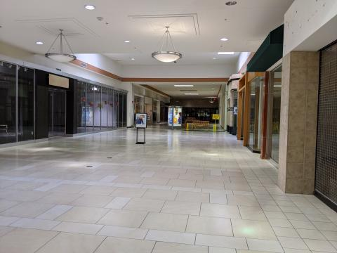 Inside Cary Towne Center on Jan. 28, 2021