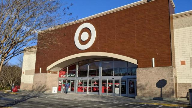 Target Store Front in Cary, NC