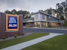 ALDI store front (photo courtesy of ALDI)