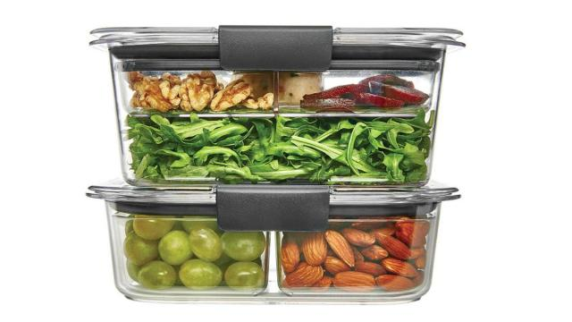 Rubbermaid Brilliance Food Storage Container Set (photo courtesy Amazon)