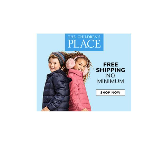 The Children's Place Sale: Up to 75% off plus free shipping on every order