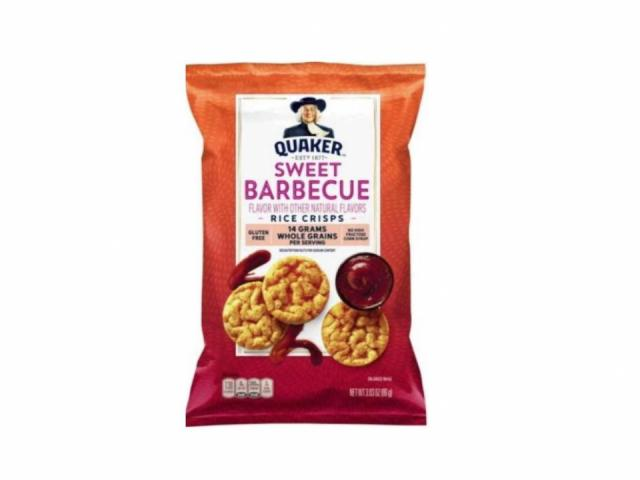 Recall: Quaker Sweet Barbecue Rice Crisps