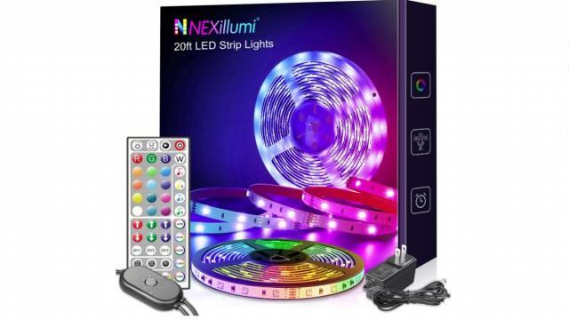 Color Changing LED Strip Lights (photo courtesy Amazon)