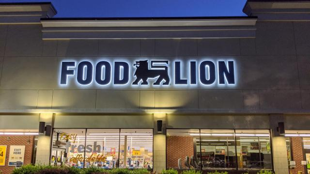 Food Lion Store Front, Cary, NC