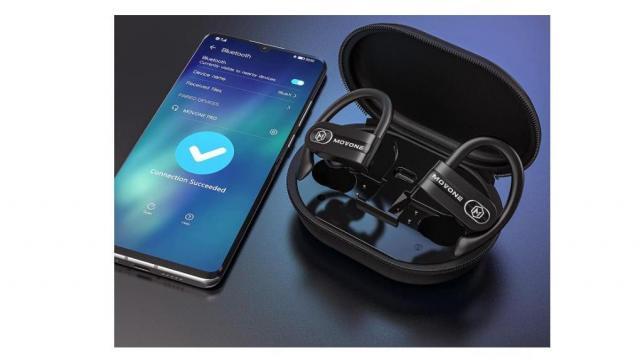 Bluetooth wireless earbuds (photo courtesy of Amazon)