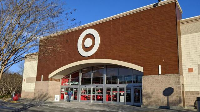 Target Store Front, Cary, NC